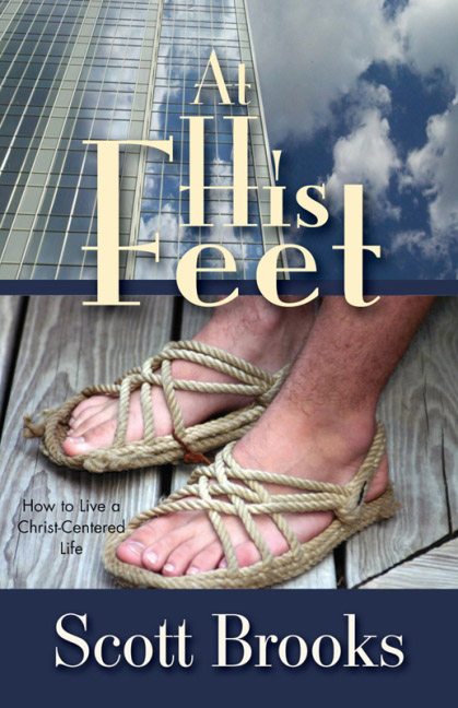 *** At His Feet Book Cover Picture ***